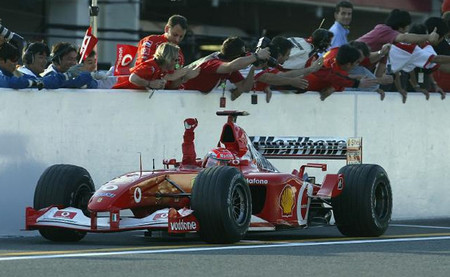 Gran Premio de Japón 2002: éxitos esperados, éxitos inesperados