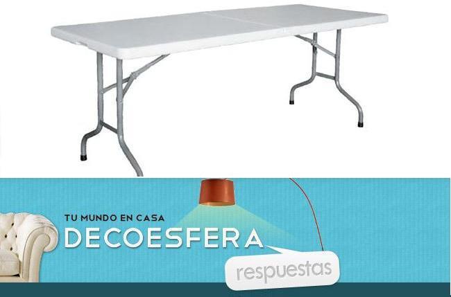Decoesfera Respuestas mesas y sillas extra en Navidad