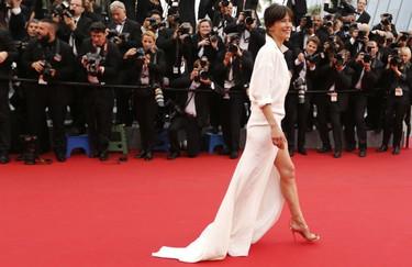 El glamour continúa en Cannes. La alfombra roja de la segunda jornada