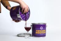 La solución a un mal vino... empacarlo en botes de pintura