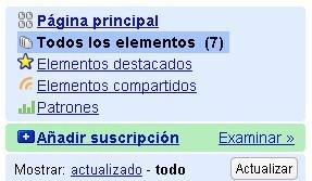 Google Reader ya está en castellano