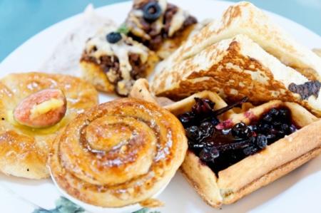 Alimentos para el desayuno con exceso de azúcar
