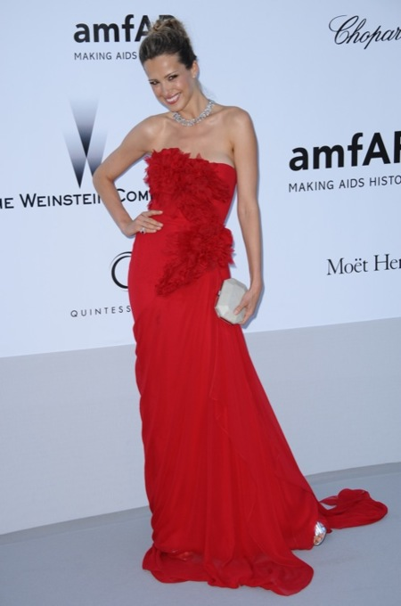 Petra NemKowa amFAR 2012 Cannes