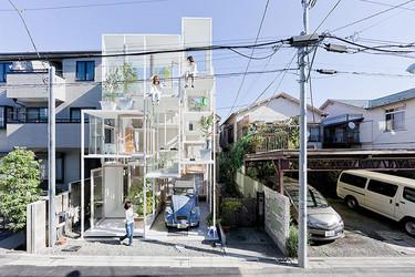 Casas poco convencionales: una casa completamente transparente