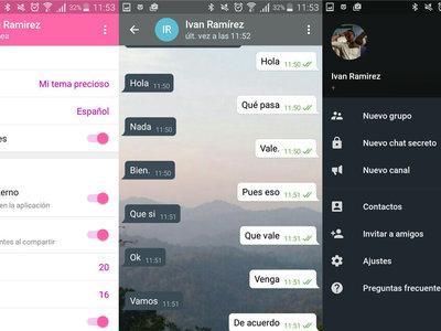 Telegram a tu gusto: así puedes crear tu propio tema desde la aplicación