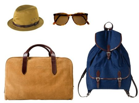 A.P.C colección de accesorios para la Primavera-Verano 2011