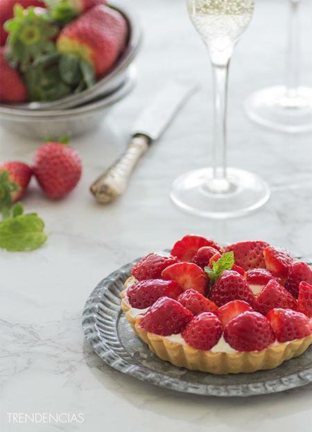 Tartaletas de fresa y lemon curd. Receta especial para San Valentín