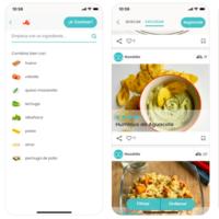 Nooddle: la app que te sugiere recetas saludables con lo que tengas en la nevera