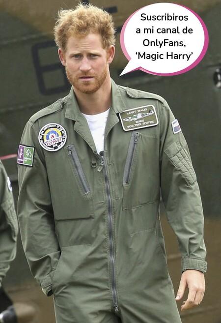 El picarón comentario del príncipe Harry sobre sus fotos desnudo: se ha ganado que no le quiten el título de duque de suSEX