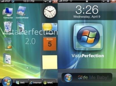 Windows Vista en el iPhone (tiene truco)