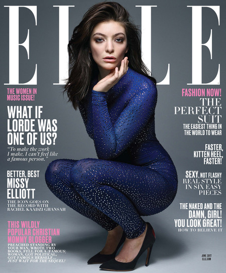 Lorde June 2017 Issue Elle Magazine Fashion Dior Gucci Tom Lorenzo Site 1