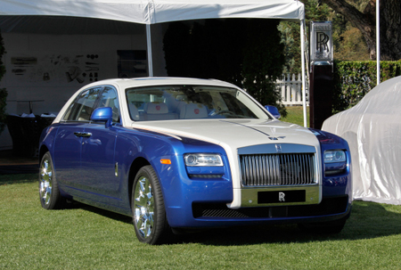 El Rolls-Royce Ghost recibe una ligera actualización para 2013