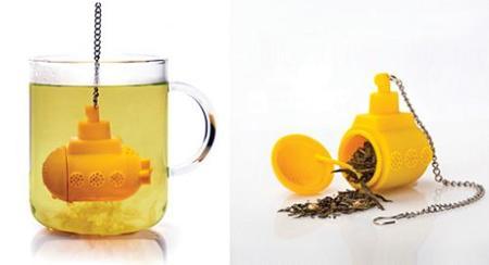 TeaSub, infusor de té con forma de submarino