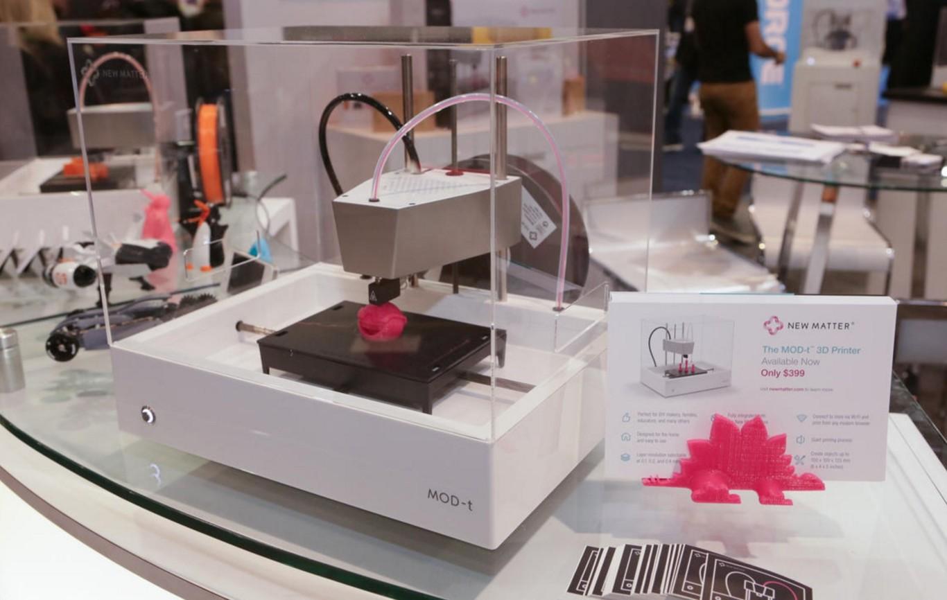 La impresión 3D ya no es tan protagonista en el CES, pero eso solo demuestra que está más madura