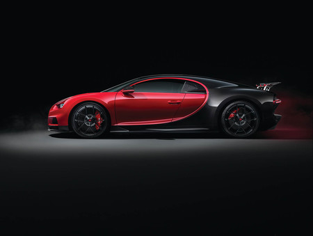 Bugatti Chiron Sport Salón de Ginebra