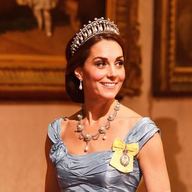 Máxima de Holanda gana por goleada a Kate Middleton en la cena de gala en honor a los reyes de Holanda en Londres
