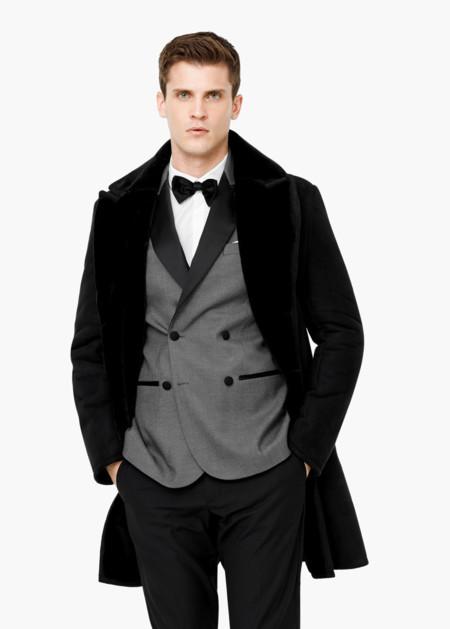 Clon De La Semana Abrigo Fur Saint Laurent Massimo Dutti Invierno 2015 2