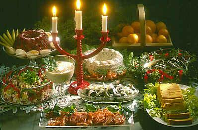 Mesa navidad Finlandia