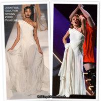 Los diferentes vestuarios de Kyle Minogue para los Brits 2009