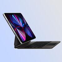 """Precio mínimo histórico en Amazon del Magic Keyboard para iPad Pro de 12,9"""": 257,45 euros para la funda con teclado y trackpad"""