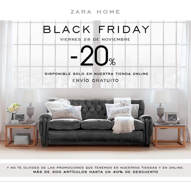 Black Friday Zara Home