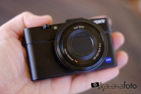 Sony RX100 II en las manos