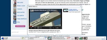 Google Related, contenidos relacionados con lo que estás viendo en tu navegador