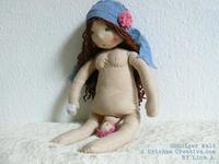 Preciosas muñecas de embarazo, parto y lactancia hechas a mano