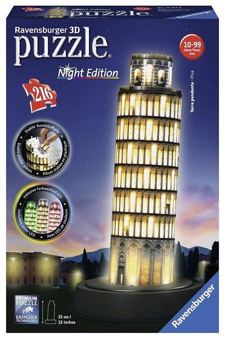 El puzzle de la marca Ravensburger con 216 piezas de la torre de Pisa en 3D está por 26,66 euros en Amazon