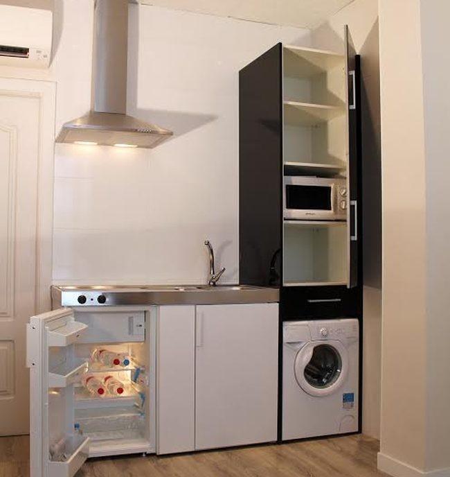 M s minicocinas para miniapartamentos de la mano de for Mini cocinas integrales modernas