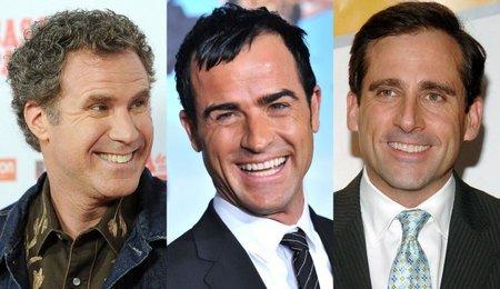 Justin Theroux dirigirá una comedia con Will Ferrell y Steve Carell