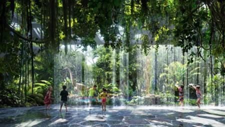 The Rosemont Hotel & Residences, el primer hotel del mundo en tener su propia selva tropical