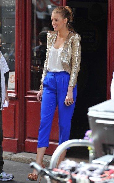 Todos los últimos looks de Blake Lively: una Gossip Girl en París X