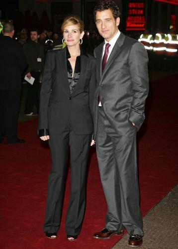 Los looks de Julia Roberts en las premieres de Duplicity en Londres y París
