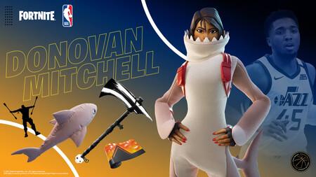 Donovan Mitchells Fortnite