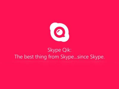 Skype se carga Skype Qik, la aplicación para mandar vídeos cortos entre amigos