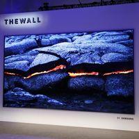 El primer televisor microLED del mercado, el Samsung The Wall, llegará al mercado a lo largo del verano
