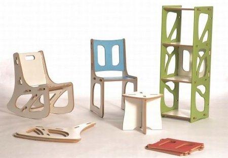 Gypsy, muebles modulares con montaje de un minuto
