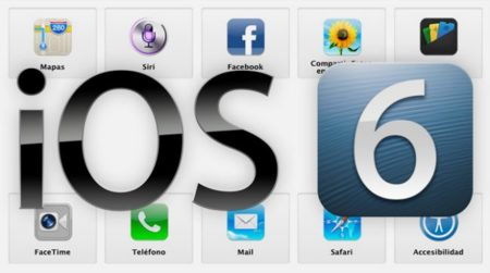 iOS 6 ya disponible