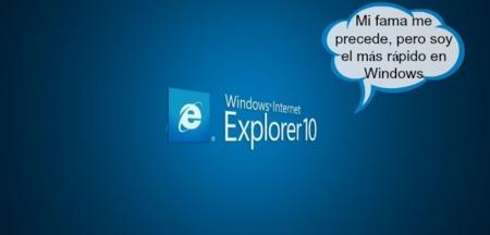 Microsoft presume de Internet Explorer 10 como el navegador más rápido en Windows