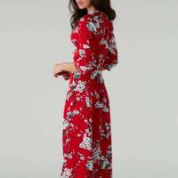 Vestido Print Rojo