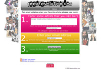 Feedrevolution, alertas de nuevos temas musicales de tus artistas favoritos