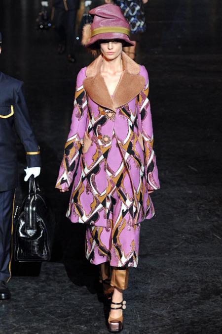 Louis Vuitton Otoño-Invierno 2012/2013: fe ciega en el estampado