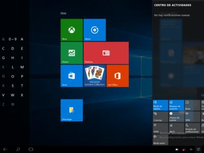 Windows 10 en un tablet: así ha sido nuestra experiencia