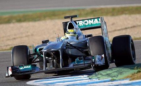 Nico Rosberg mantiene a Mercedes en primera posición al término de la tercera mañana en Jerez