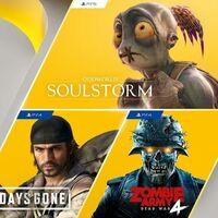 Oddworld: Soulstorm y Days Gone entre los juegos de PlayStation Plus de abril de 2021