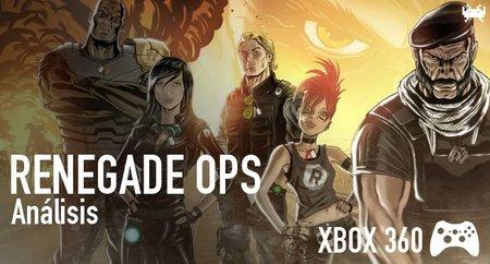 'Renegade Ops' para Xbox 360: análisis