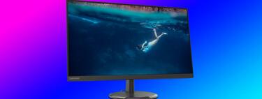 """Este monitor de Lenovo de 27"""" Full HD y 75 Hz es un chollo en MediaMarkt por 99,99 euros [AGOTADO]"""