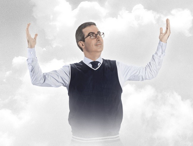 John Oliver, líder religioso. Cómico. CEO. No-periodista.