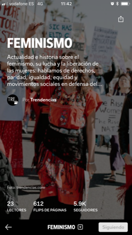 Revista Trendencias Flipboard 6
